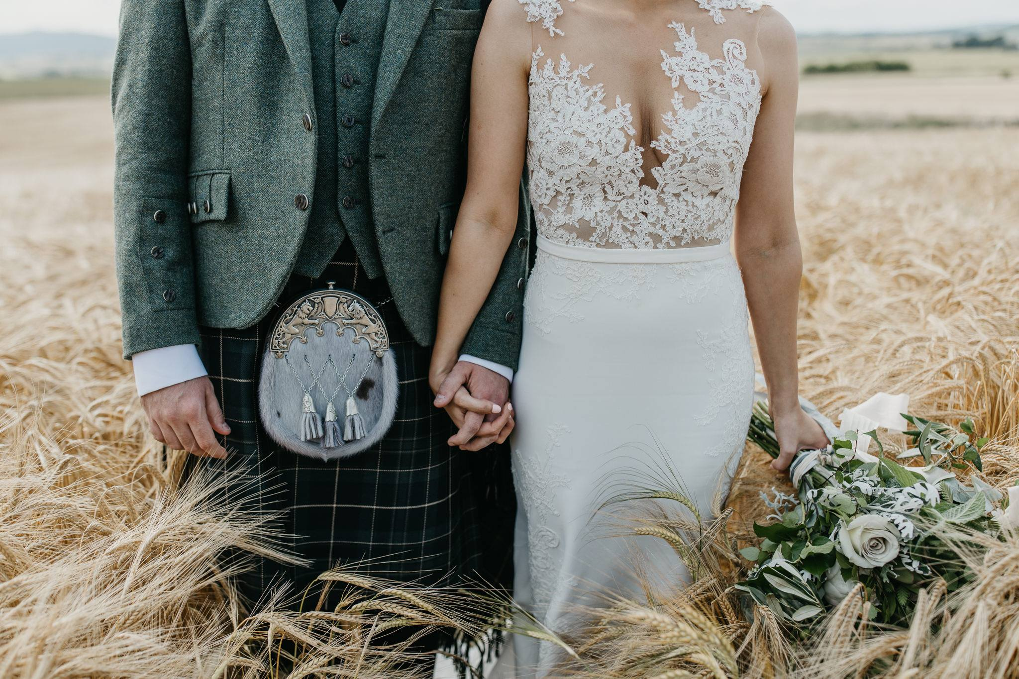relaxed & creative wedding storytelling - Aberdeen wedding